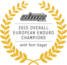 2015 Overall European Enduro Champion - Tom Sagar