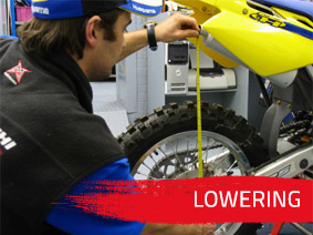 Bike Suspension Lowering Services