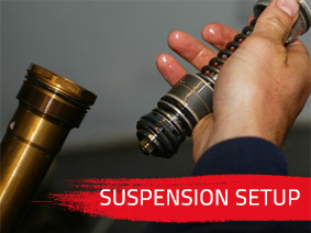 Suspension Setup for Motorbikes and Mountain Bikes
