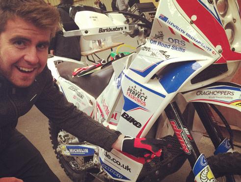 Dr Shox - Dakar Rally - Simon Pavey