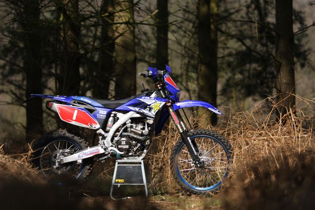 Racing with Official Yamaha Enduro team 2010